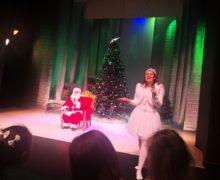 Słoneczka na spotkaniu z Mikołajem