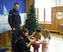Biedronki podczas spotkania z Policją