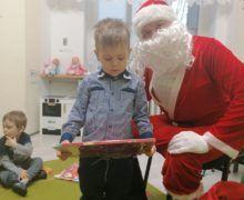 Mikołaj odwiedził Delfinki